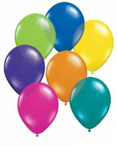 Balóny perleťové - MIX FARIEB (20 ks)  - obrázok