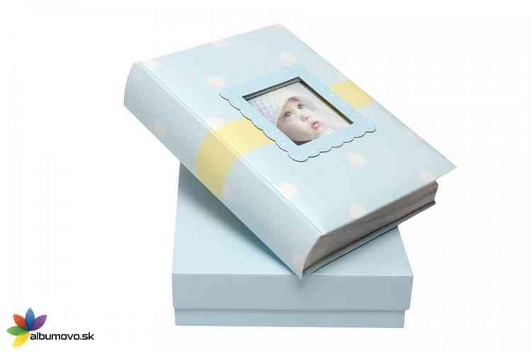 Detský fotoalbum BELLY BABY + Darčekové balenie  - obrázok