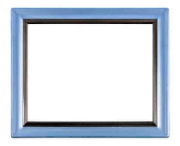 MINI rámik - MODRÝ (4,8x6,5) - obrázok