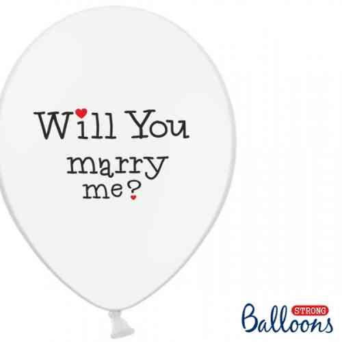 "Balóny ""WILL YOU MARRY ME"" - Biele (6 ks) - 56432098c6887-big_SB14P-229-008_02.jpg"
