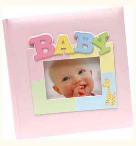 Detský fotoalbum GIRAFFE BABY Notes - obrázok