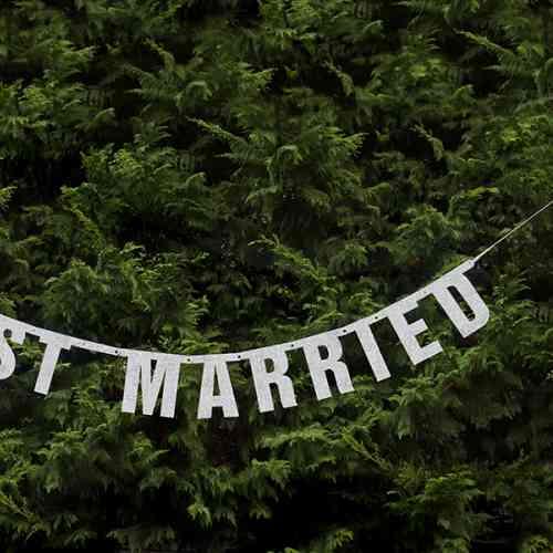 Girlanda JUST MARRIED (1,70 m)  - big_GRL15-018_02.jpg