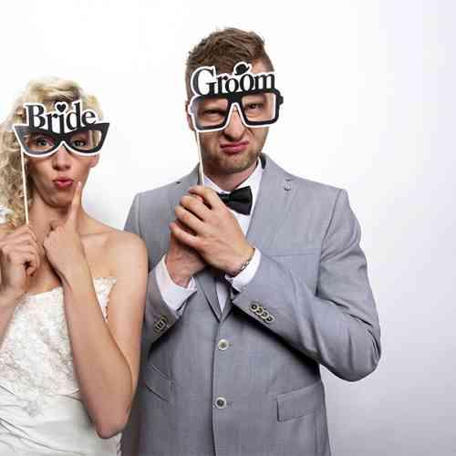 """Kartičky na fotenie """"BRIDE & GROOM"""" (2 ks) - big_KNP12_02.jpg"""