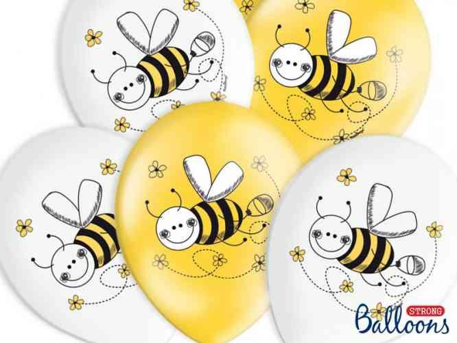 Balóny VČIELKY (6 ks)  - obrázok