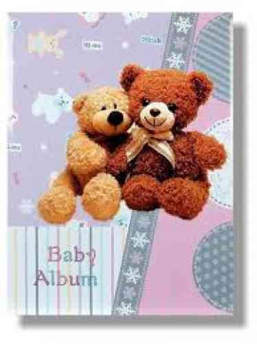 Detský fotoalbum TEDDY BABY (Fóliový) - obrázok